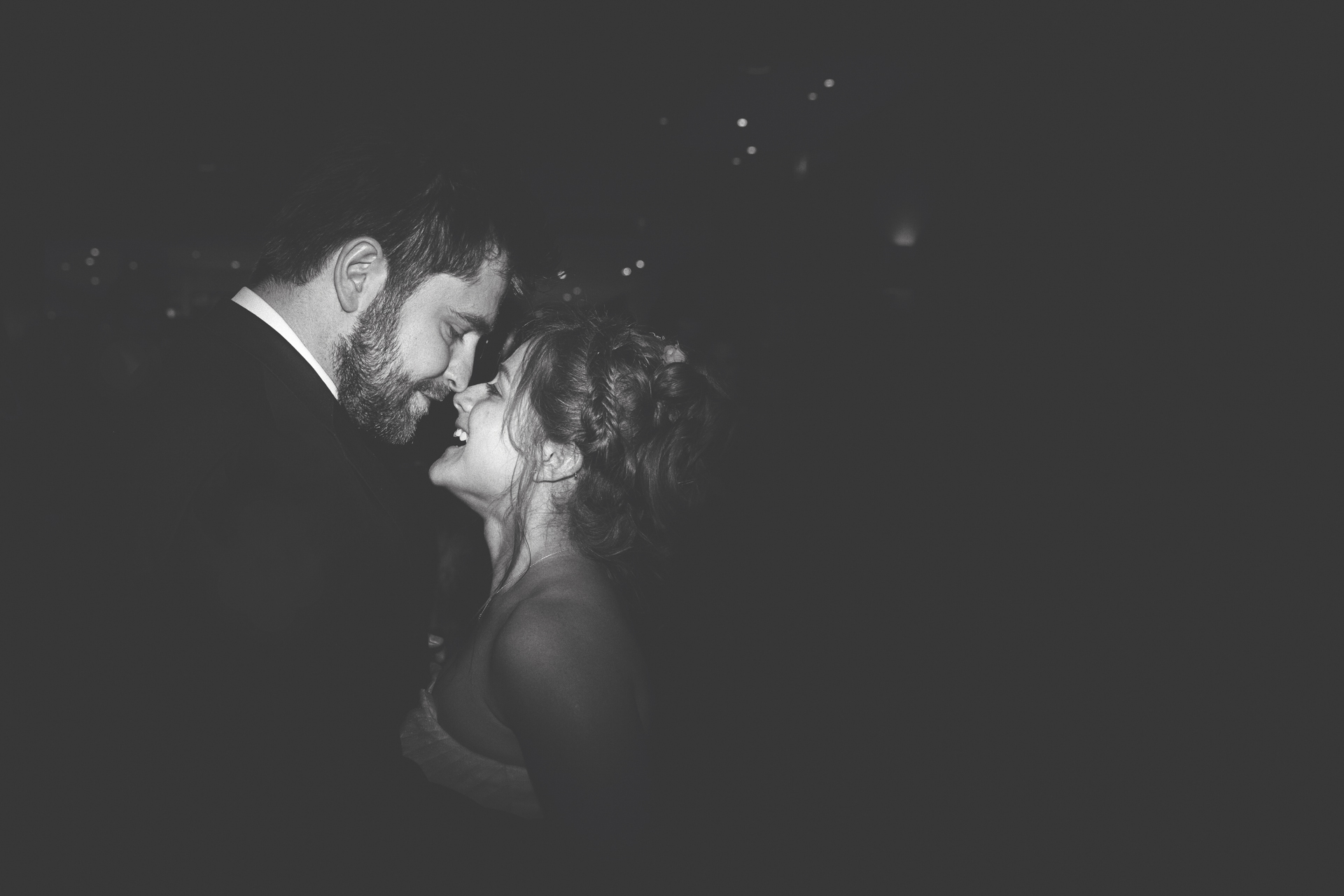 Couples first dance at their Devonshire Terrace London Wedding