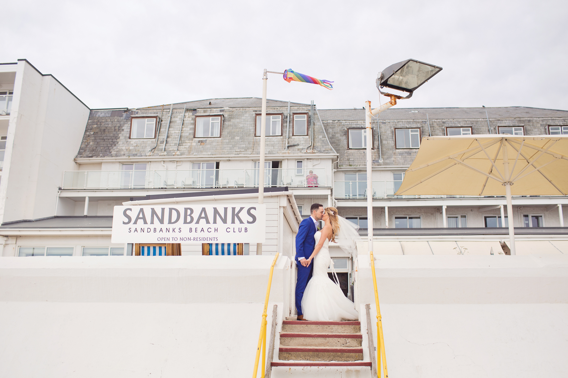 Beach Weddings at the Sandbanks Hotel in Poole