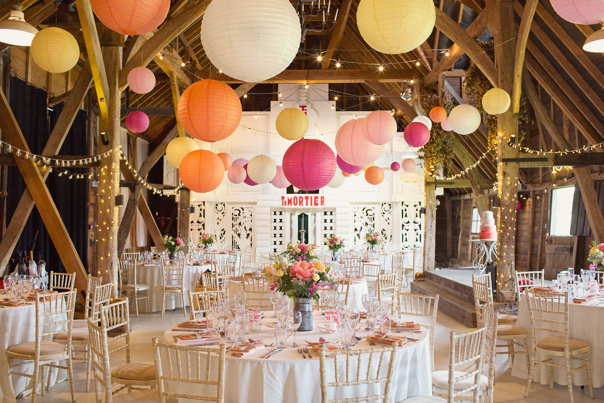 Funky Barn Wedding Kent