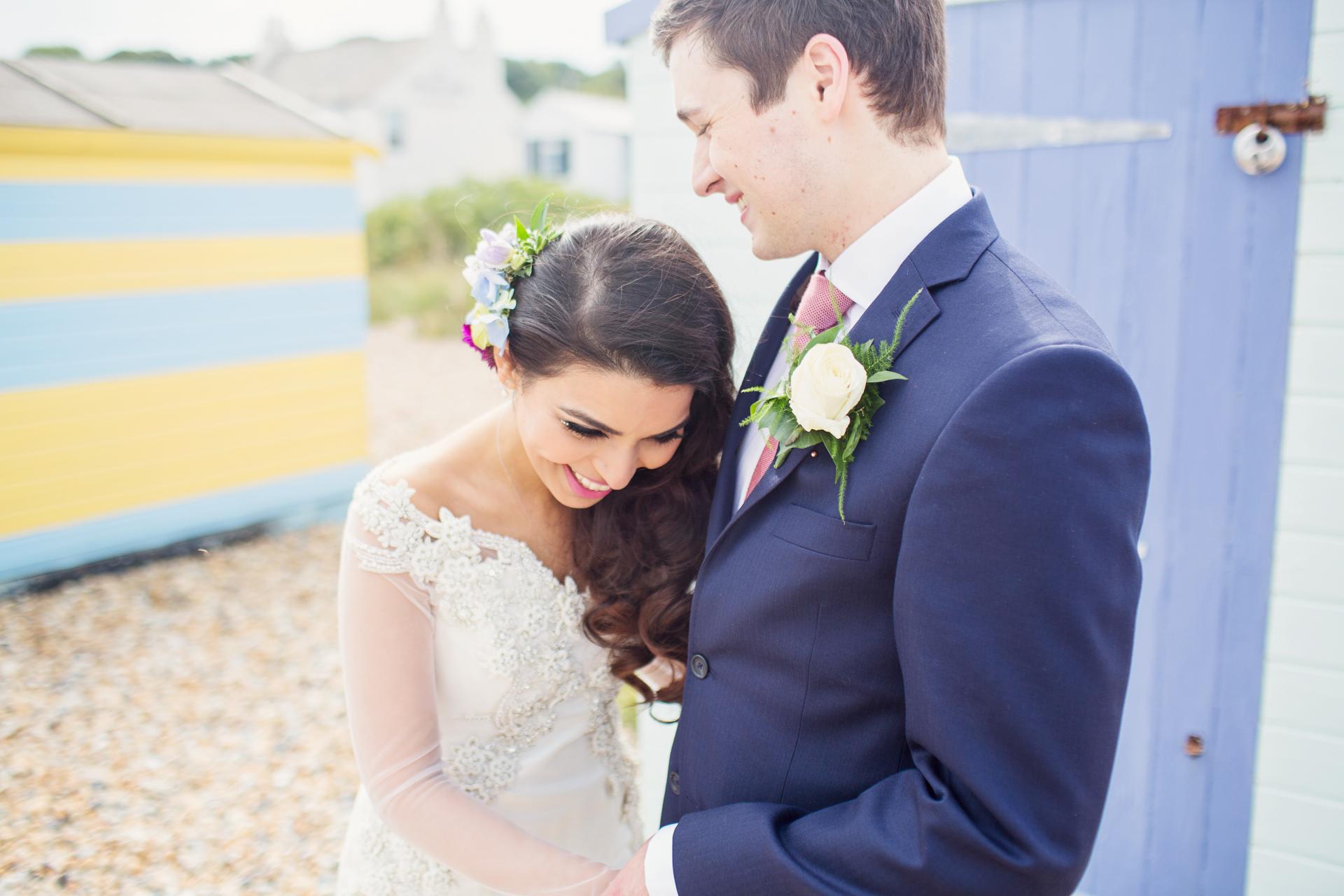 beach wedding kent