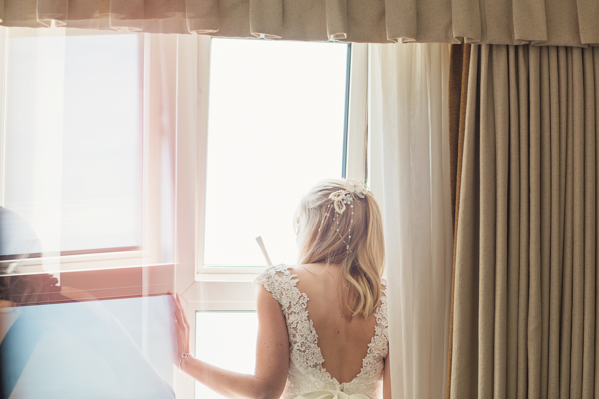 bournemouth beach bride