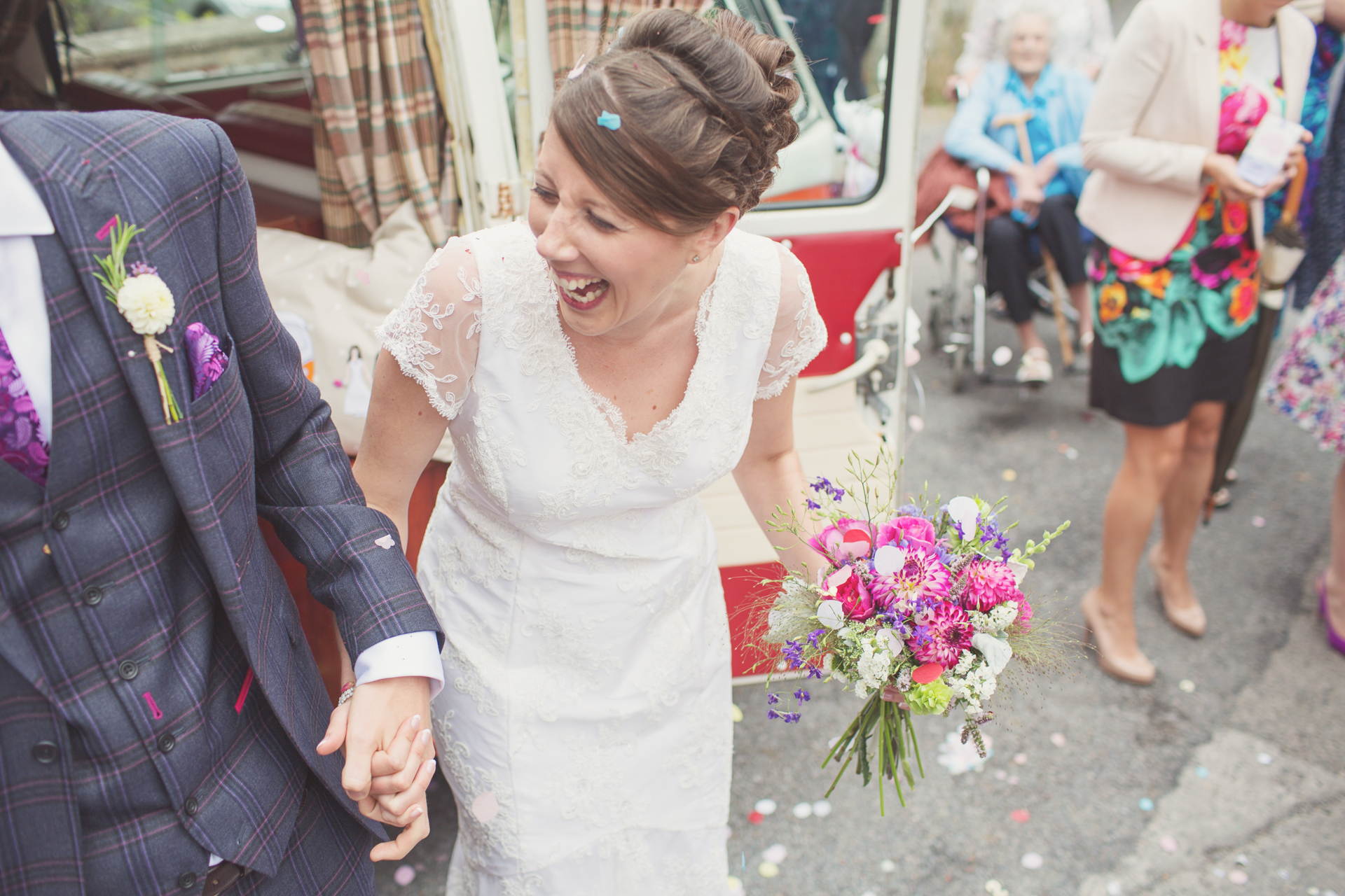 fun and relaxed wedding photographer UK