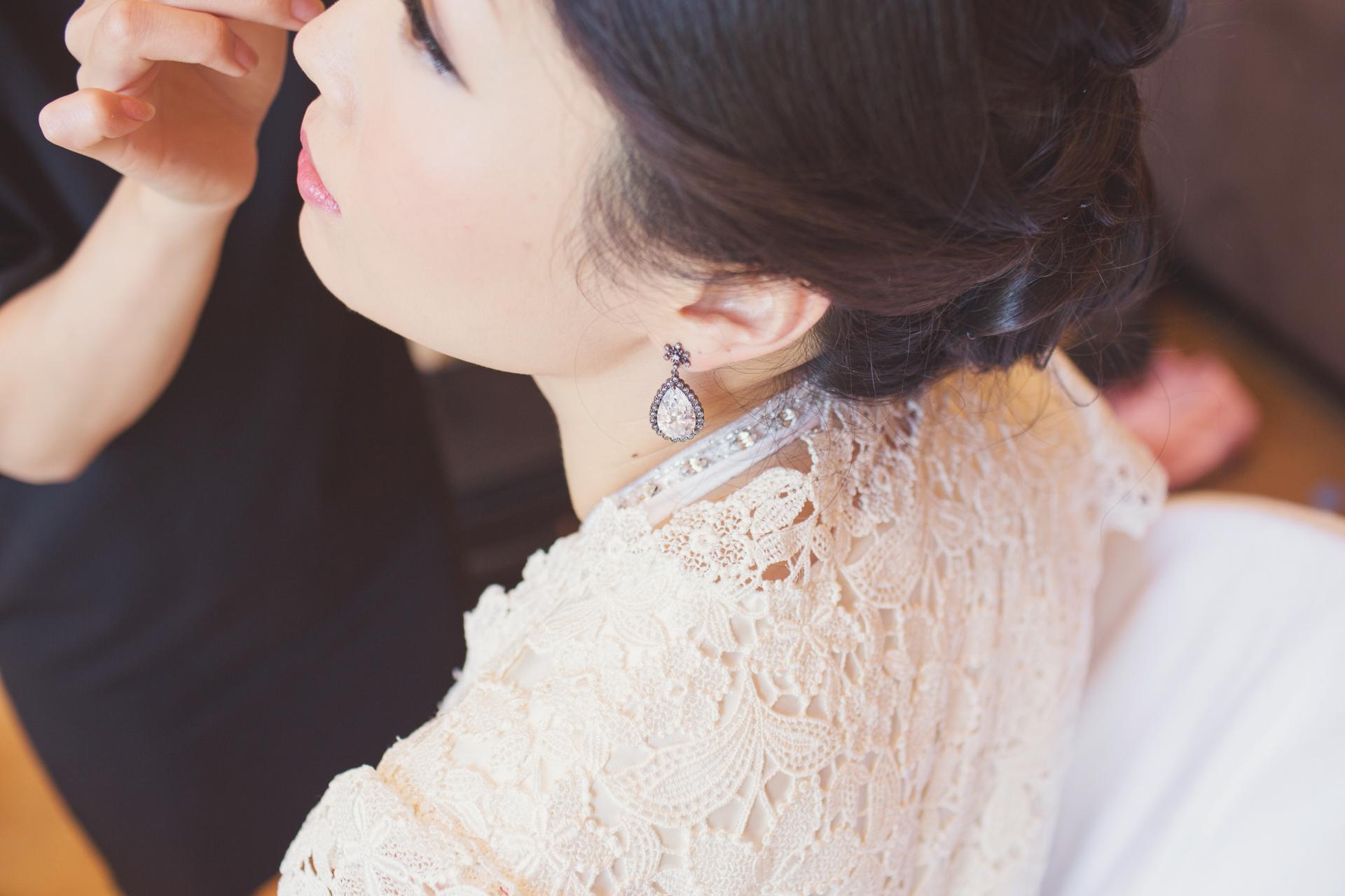 elegant bride city wedding