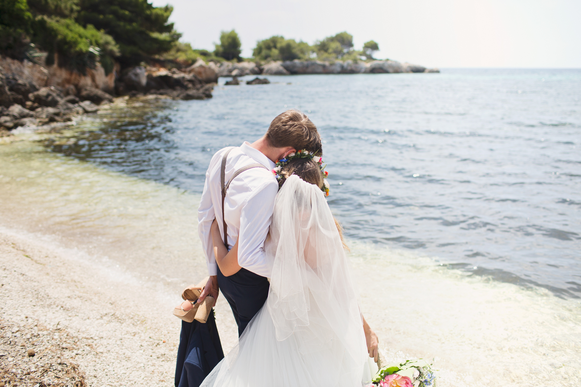 seaside wedding photography kefalonia