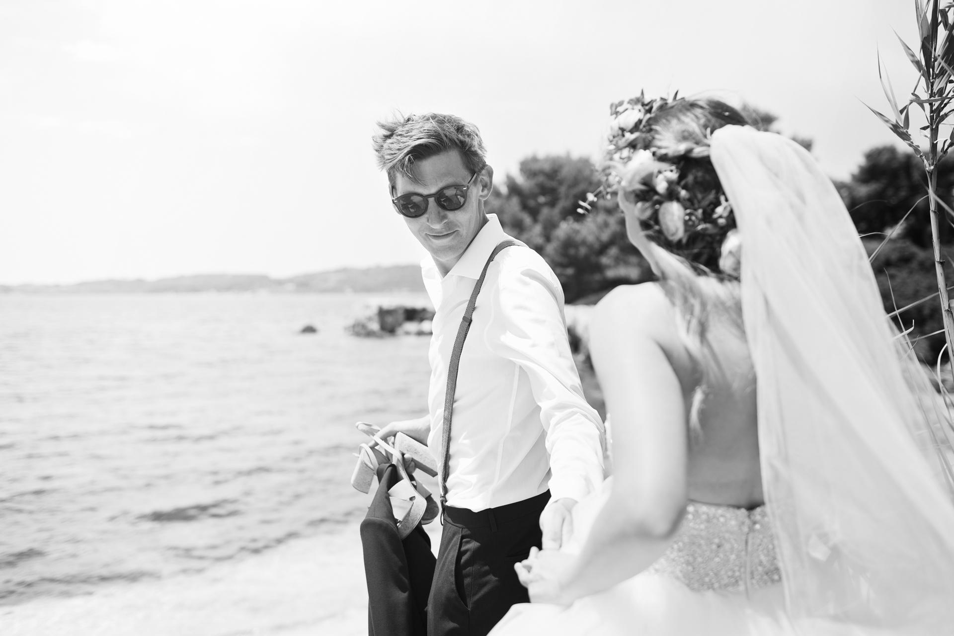 seaside kefalonia wedding photographer
