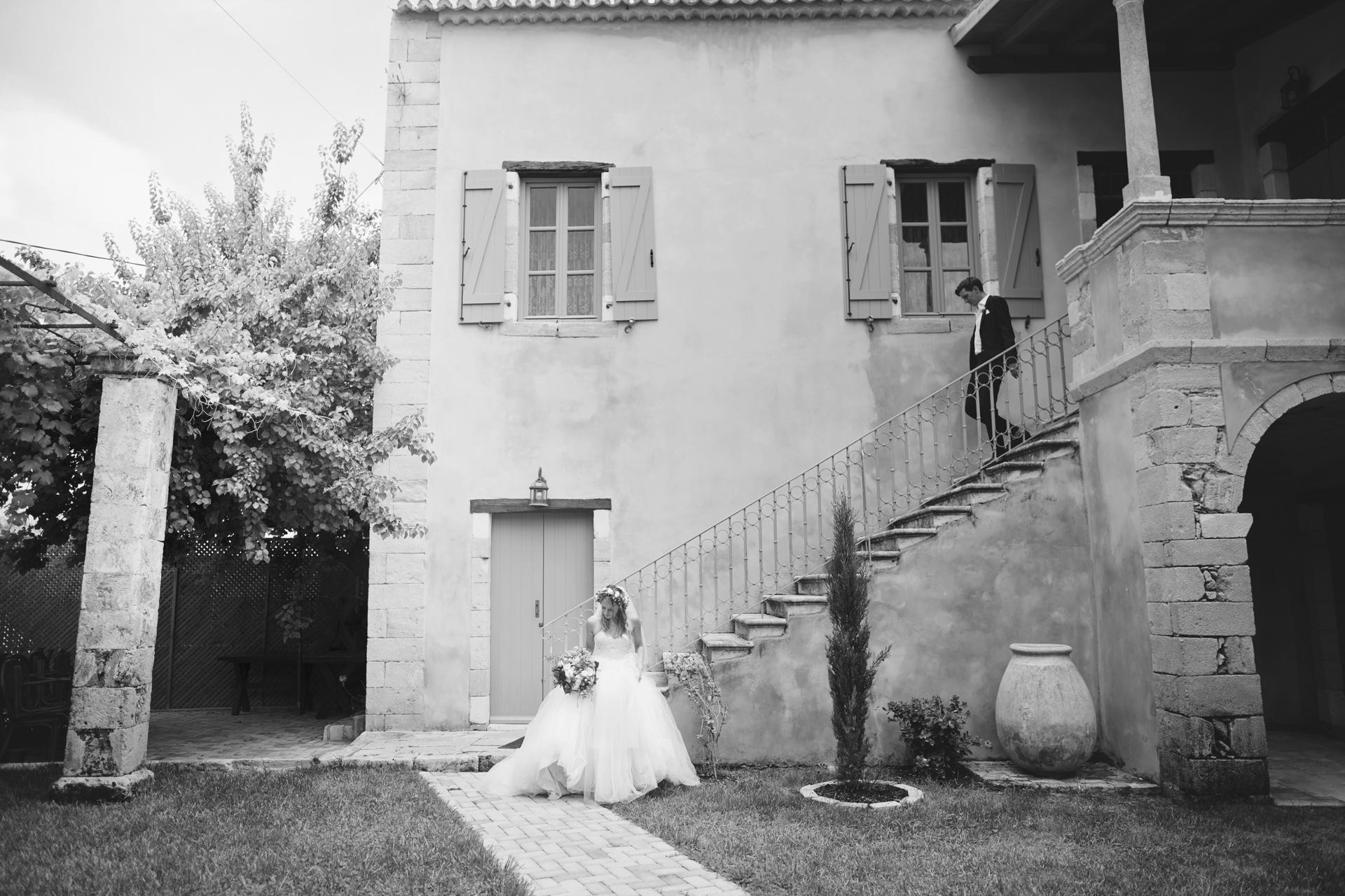 Kefalonia greece manor house chateaux wedding
