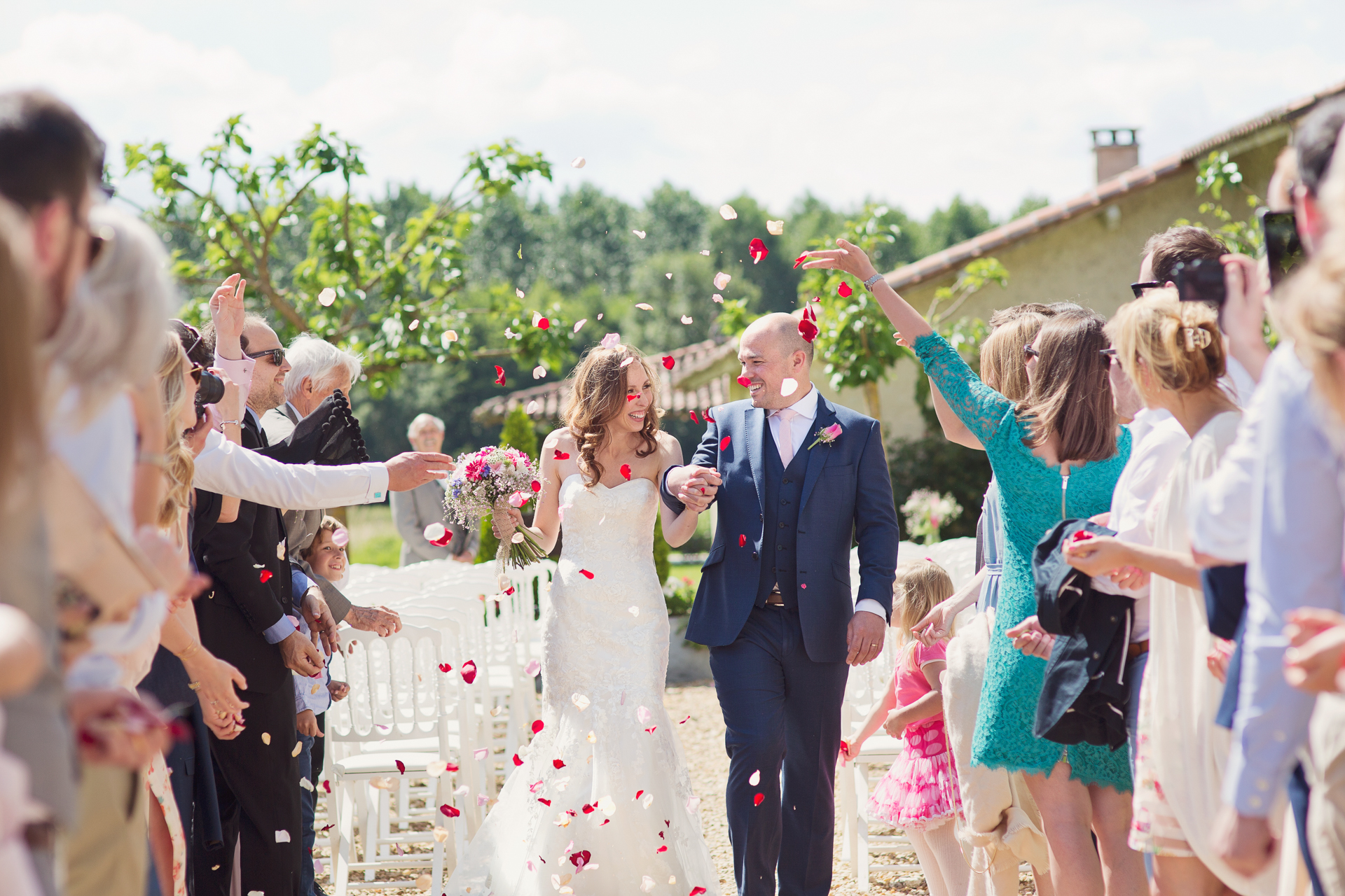 french chateaux wedding