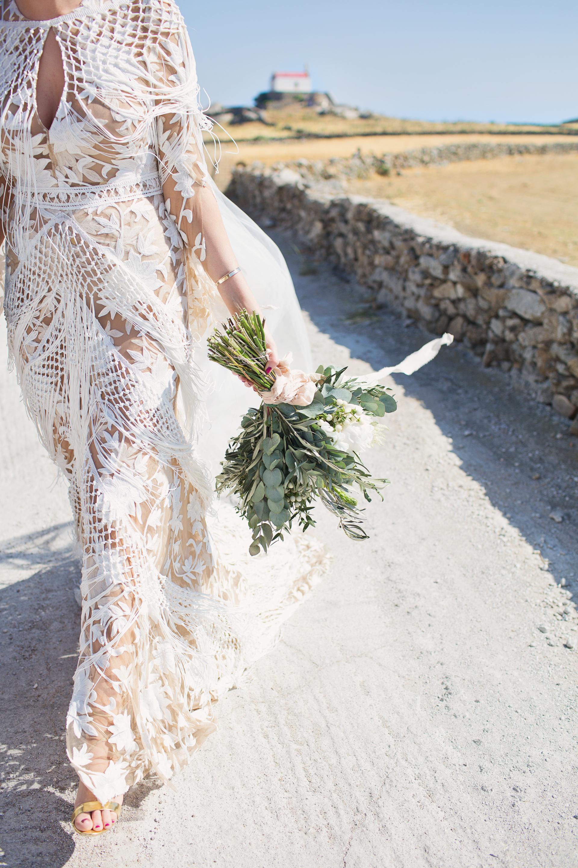 mykonos rural wedding