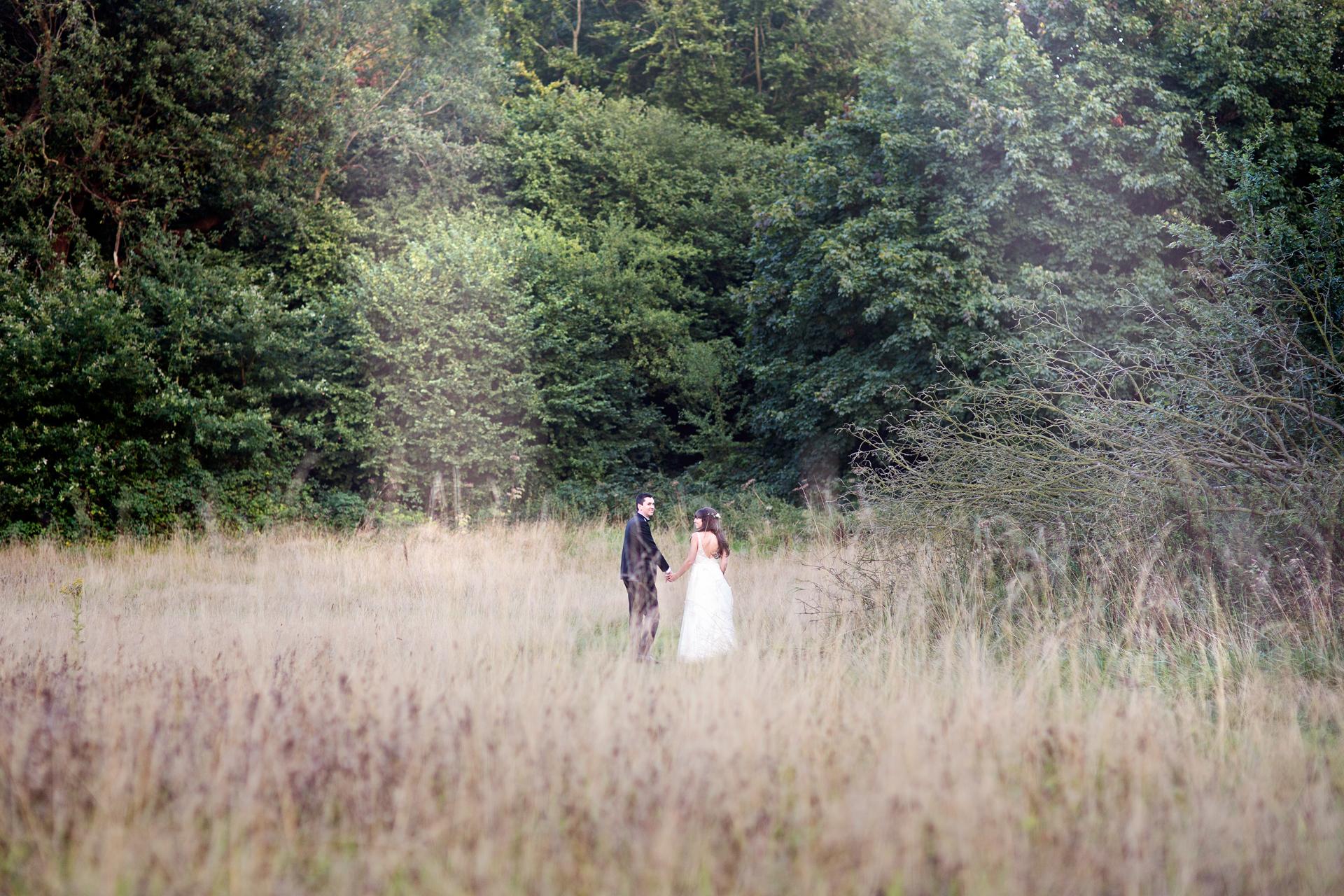 woodland uk wedding photography