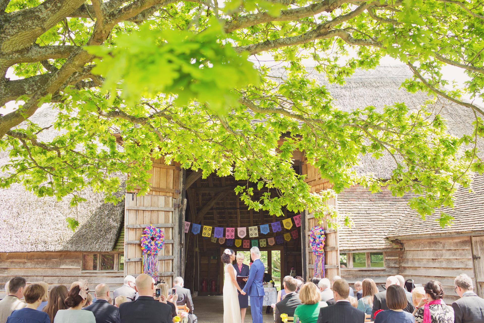 wedding in the woods uk