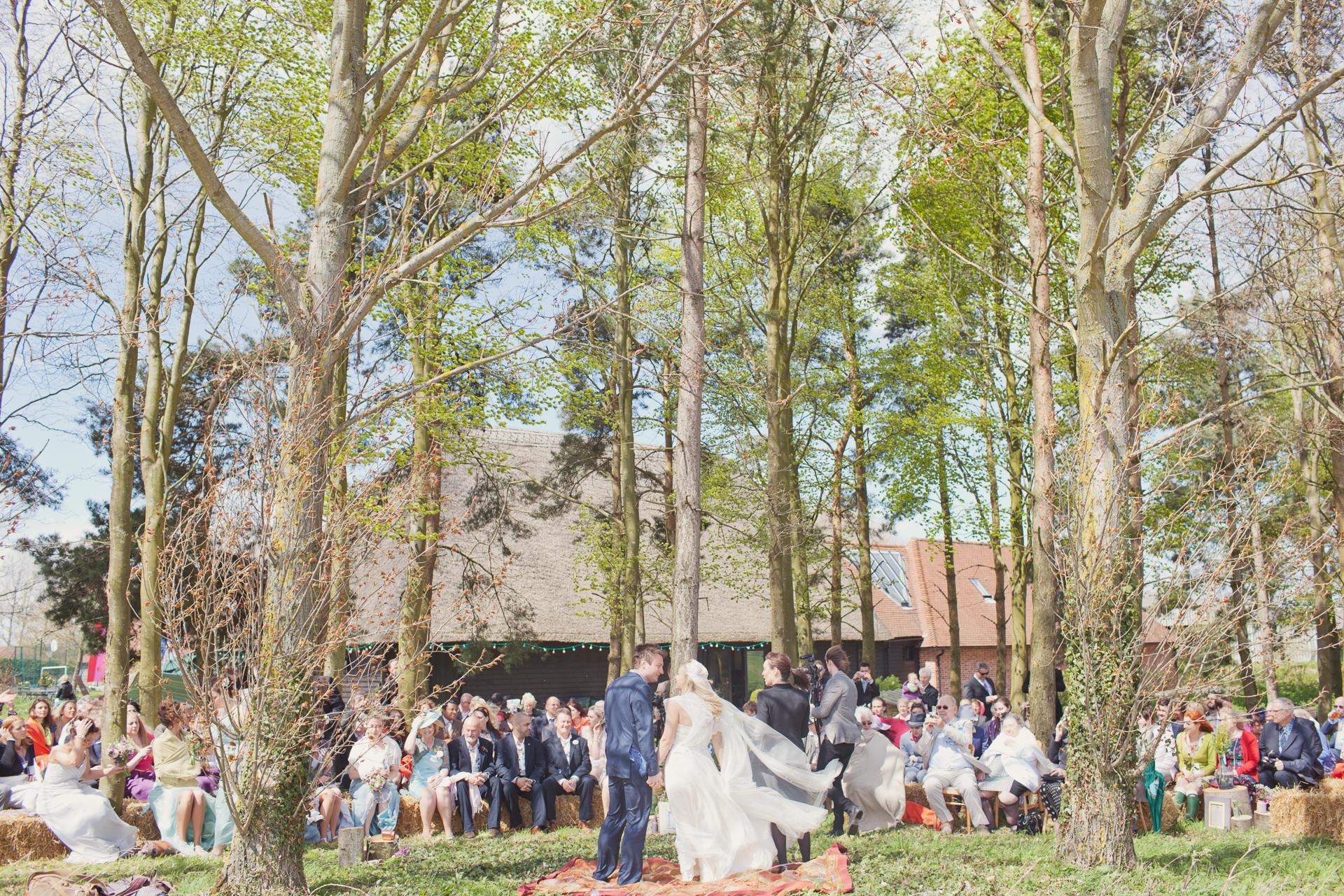 outdoor festival wedding uk
