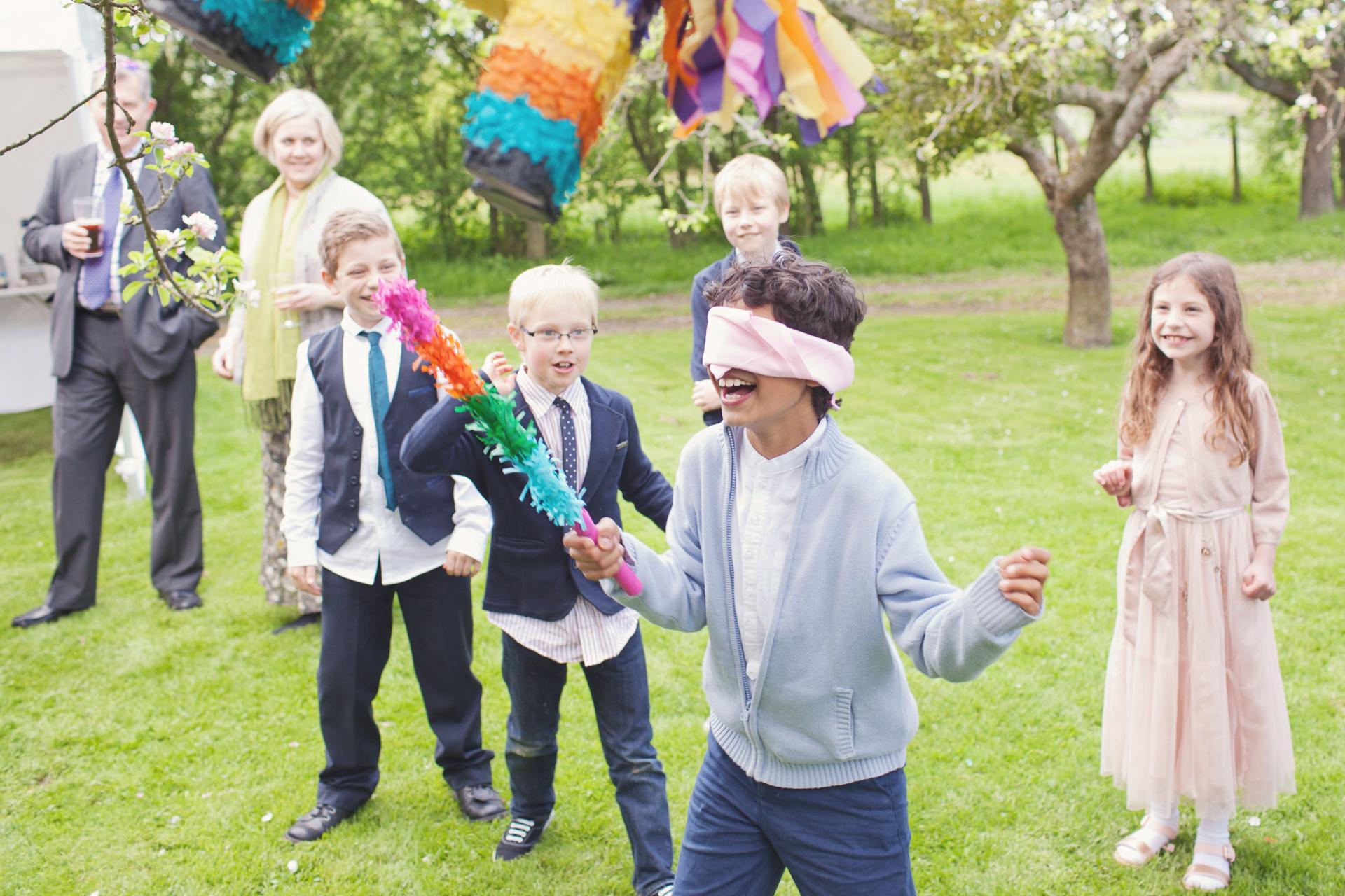 piñata at wedding