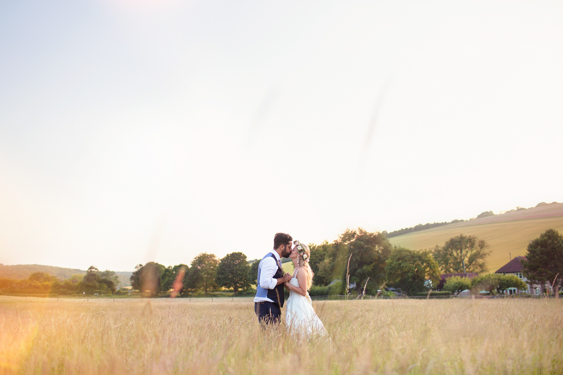 Festival Wedding at Upwaltham Barns in Chichester